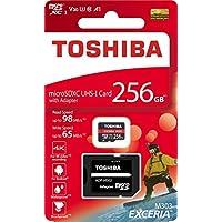 東芝 EXCERIA THN-M303R2560A2 [256GB] microSDXCカード UHS-I A1 V30 U3対応 海外パッケージ