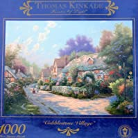 Thomas Kinkade Painter of Light 1000pc. Puzzle-Cobblestone Village [並行輸入品]
