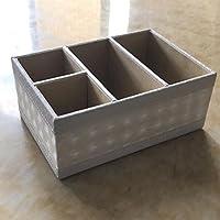 WTL かご?バスケット 革の収納ボックスの家のデスクトップの破片の収納ボックス (色 : E, サイズ さいず : 19.5*13*8cm)