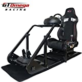 OMEGA GT Omega ART Racing Simulator Cockpit RS9 Seat Suitable for the Thrustmaster TX Racing Wheel Ferrari 458 wheel TH8A shifter by GT Omega Racing [並行輸入品]