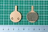 高温焼結 MTB マグラ MAGURA ルイース Louise クララ Clara用 type 2.1 and 2.2 ディスクブレーキパッド メタルパッド