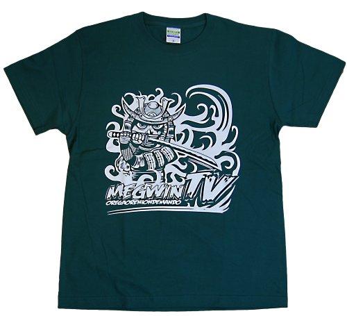 MEGWIN TV Tシャツ サムライ グリーン (M)