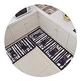 浴室のドアのマットのドアのマットのカーペットの寝室のドアの滑り止めの防汚吸収性パッドの家の滑り止めのマットの台所,厨房-12,50×80×50×160
