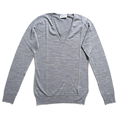 (ジョンスメドレー) JOHN SMEDLEY Vネックセーター Lサイズ ORCHID オーキッド [並行輸入品]