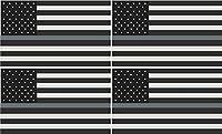 4–3「シンシルバーラインSubdued American Flag CorrectionsガードビニールステッカーR