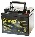 LONG 12V 50Ah 高性能 シールドバッテリー WP50-12 WP50-12
