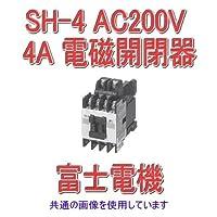 富士電機 SH-4 AC200V 4A 標準形補助継電器 NN