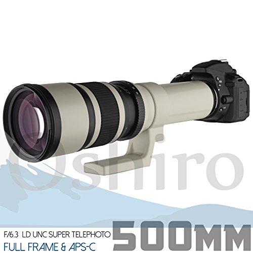 Oshiro 500 Mm F / 6.3 Ld Unc Al Spa Telephoto Lens For Canon Eos 80D ...