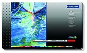 ステッドラー 水彩色鉛筆 カラトアクェレル 125 M48  48色