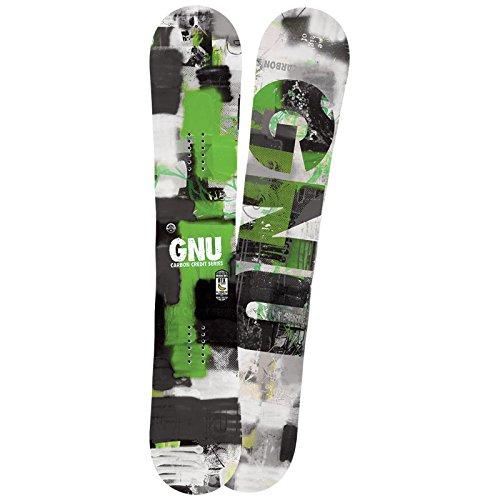 GNU グヌー GNU SNOWBOARDS 2015-2016 CARBON CREDIT フリースタイル スノーボード板 153【Mens】【Ladies】