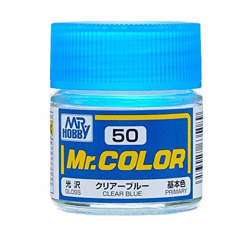 GSIクレオス Mr.カラー クリアーブルー 10ml C50