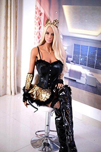 170CM 等身大 ダッチワイフ フルシリコン ラブドール 送料無料 立った形 大さな胸 ヨーロッパとアメリカのスタイル big breast sex doll for sex for photograph for display for bar [並行輸入品]