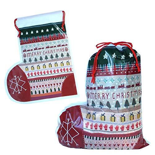 クリスマスブーツ cr-bt-oks(02/結晶) 巾着 駄菓子 詰め合わせ セット オリジナル スナック ノベルティ 遠足 パーティー 誕生日 季節 イベント 子供 キッズ ギフト プレゼント