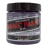 スペシャルセットMANIC PANICマニックパニック:ALIEN GREY (エイリアングレイ)+ヘアカラーケア4点セット