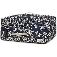 高品質のポリエステル収納袋ポータブル防水防湿トラベルオーガナイザー羽毛布団衣類移動仕上げ荷物預かり袋 (色 : 青, サイズ さいず : 63 * 48 * 35cm)