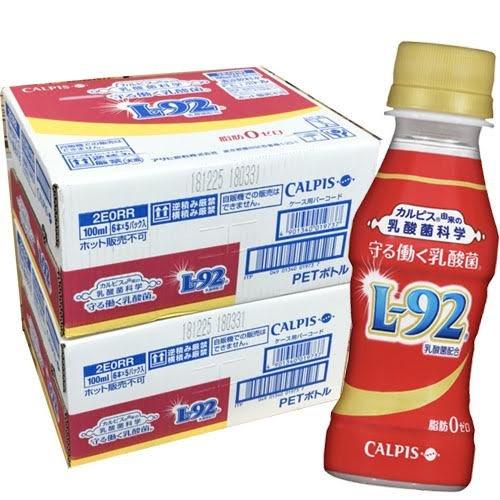 【2ケース60本】カルピス 守る働く乳酸菌 L-92 100...