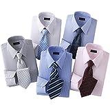 (フランコ コレツィオーニ)Franco Collezioni 銀座・丸の内のOL100人が選んだワイシャツ&ネクタイセット 50405-6-10644