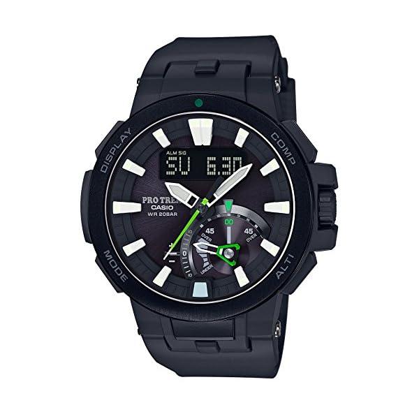 [カシオ]CASIO 腕時計 PROTREK 世界6局対応電波ソーラー PRW-7000-1AJF メンズ