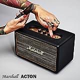 【国内正規保証付き】Marshall ACTON マーシャル「アクトン」Bluetooth搭載のコンパクトスピーカー:ブラック 【ギターアンプ、ヘッドフォン、iPhone、スマートフォン】