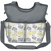 Kids Line Holds All Printed Diaper Bag Tote, White by KidsLine