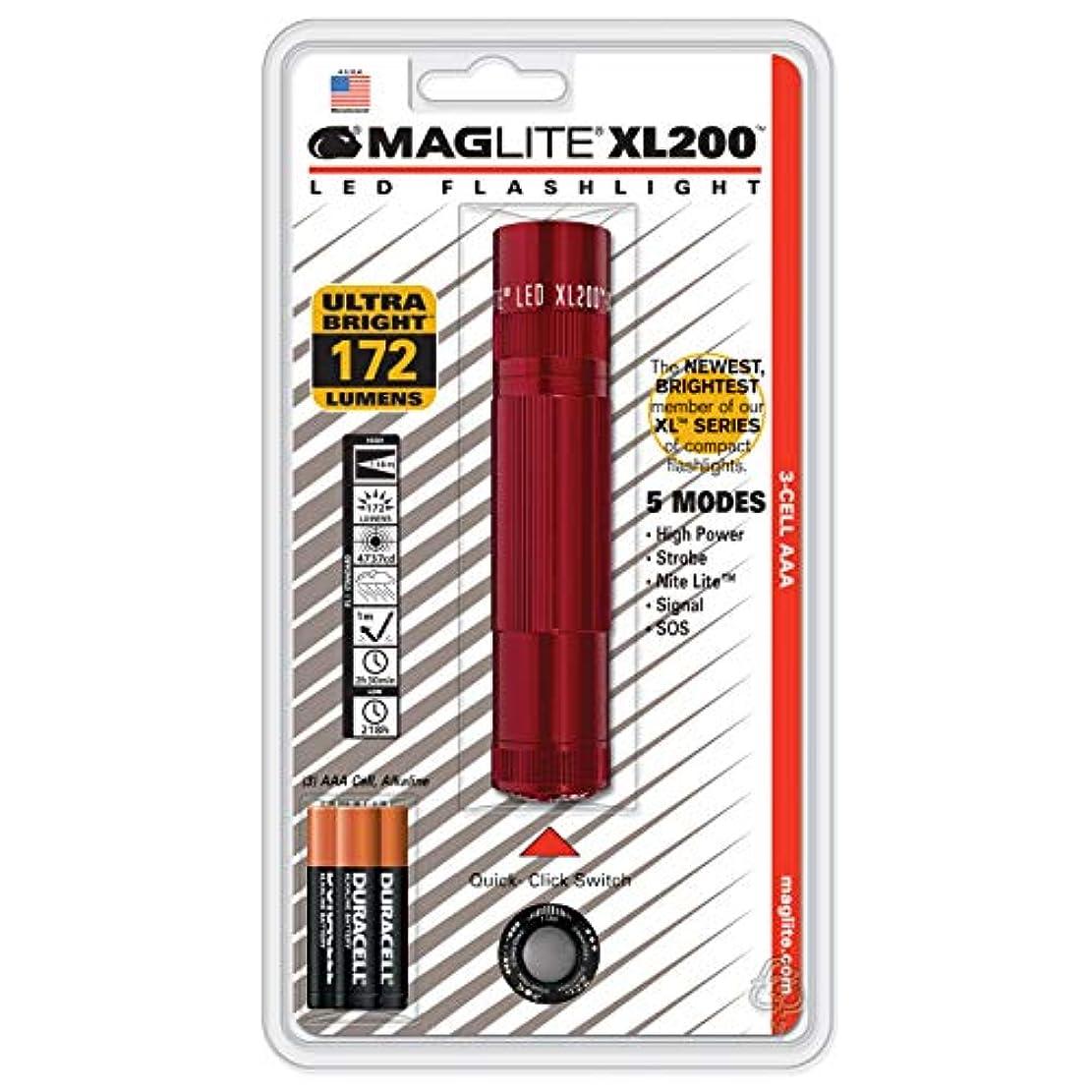 怠な透明に曲線MAGLITE(マグライト) XL200-S3036 LED