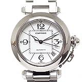 [カルティエ]CARTIER ボーイズ腕時計 パシャC W31074M7 ホワイト文字盤 【中古】
