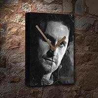 RICHARD ARMITAGE - キャンバス時計(LARGE A3 - アーティストによる署名入り) #js008