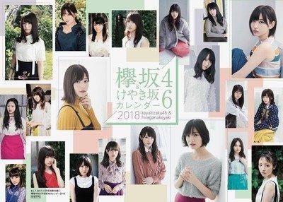 欅坂46 カレンダー 2018年 BLT 付録