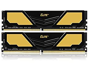 TEAM DDR4 PC4-17000 DDR4 2133MHzシリーズ Ecoパッケージ (8GBx2枚 16GBkit Elite Plus)
