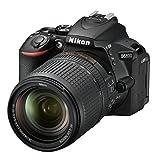 Nikon D5600 Digital SLR Camera with VR Lens, Black, 18-140mm