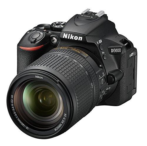 Nikon デジタル一眼レフカメラ D5600 18-140 VR レンズキット ブラック D5600LK18-140BK クリーニングクロス付き