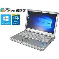 【中古ノート】Panasonic Let'snote CF-SX3(EDRCS) ■ 第4世代Core i5/4GB/SSD128GB/DVDスーパーマルチ【最新OS Windows10】