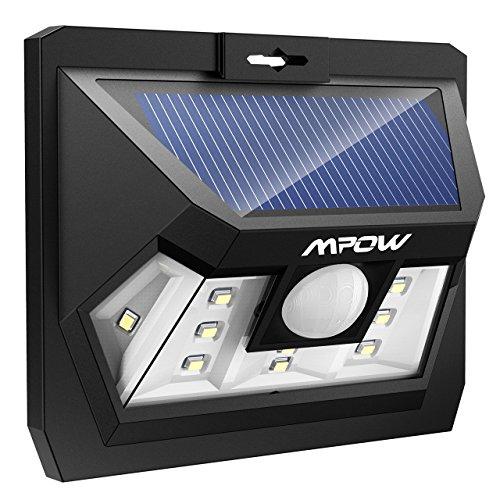 [해외]Mpow 10 LED 태양 광 조명 센서 라이트 현관 라이트 방범 라이트/Mpow 10 LED Solar Light Sensor Light Entrance Light Security Light