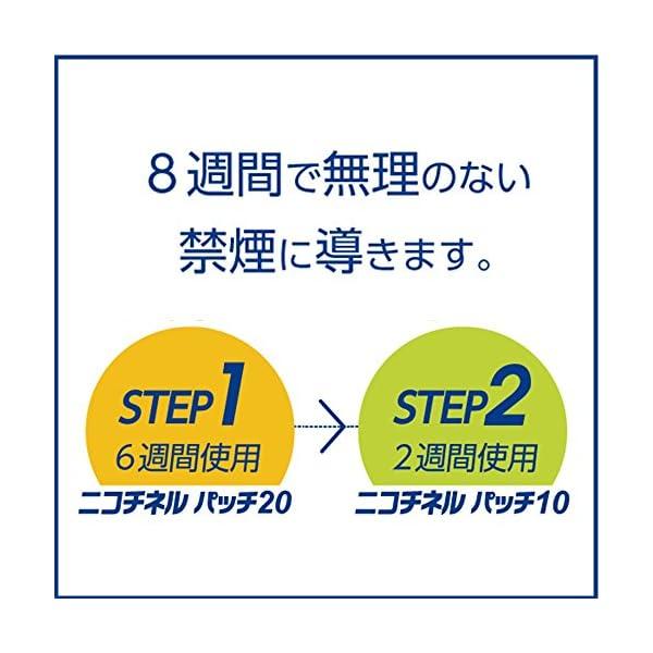 【第1類医薬品】ニコチネル パッチ20 14枚...の紹介画像5
