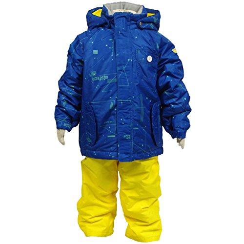 [해외]보이스 키즈 [ONYONE | Reseeda] 갤럭시 (은하계) 무늬 | 크기 조정 기능 탑재 스키 복 상하 세트 | 남자 | 소년 | 어린이 | 샘플 제품 100cm 110cm 120cm 90cm/Boys Kids [ONYONE | Reseeda] Galaxy (Galaxy) pattern | Ski wear top and bottom se...