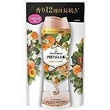 レノア ハピネス 香り付け専用ビーズ アロマジュエル アプリコット&ホワイトフローラルブーケの香り 詰め替え 455mL
