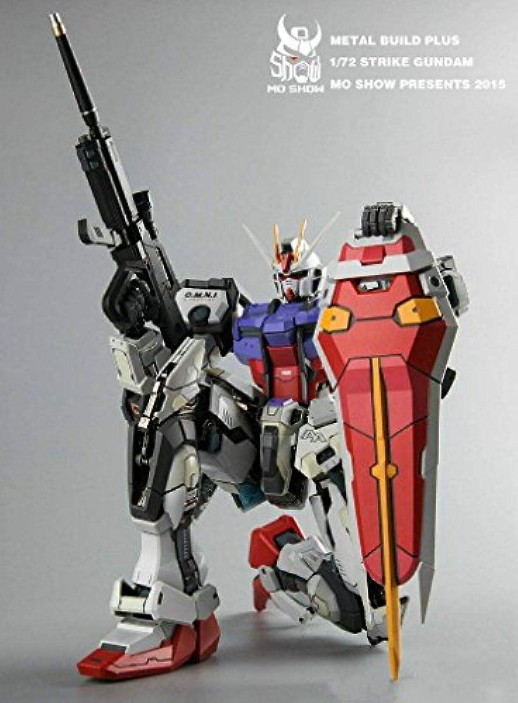 1 / 72 gat-x105 Metal BuildプラスGundam Aile Strike Striker新しい