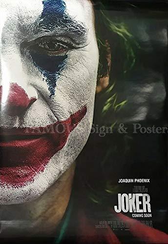 映画ポスター ジョーカー Joker グッズ ホアキン・フェニックス/アメコミ バットマン アート インテリア フレーム別/INT-両面