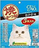 チャオ (CIAO) 猫用おやつ 焼かつお おかか味 5本