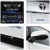 アルパイン(ALPINE) BIG X 3カメラセーフティパッケージ アルファード 30系 専用 カーナビ 11型 ビッグX リアカメラ色ホワイト フロントカメラナンバー取付け <18年モデルアップデート可能> EX11Z-AL-SF3N-W