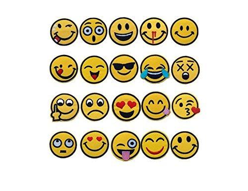 【大量20枚フルセット】Emoji スマイリーフェイス ワッ...