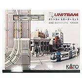 Nゲージ 40-900 ユニトラムスターターセット 富山ライトレール TLR0600形