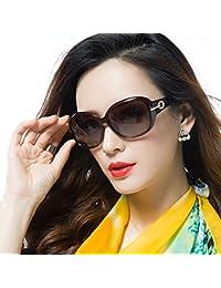 DUCOレディースクラシックサングラス 偏光サングラス 女性向け 紫外線カット 100%UV 6214