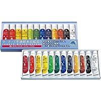 ターナー 不透明水彩絵具セット 12色セット紙箱入
