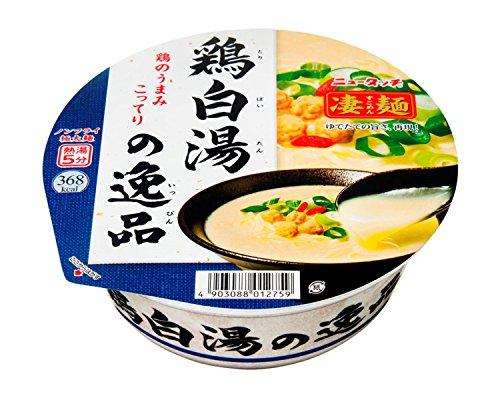 ニュータッチ 凄麺 鶏白湯の逸品 114g