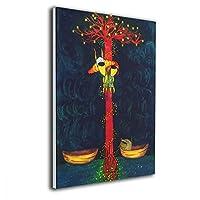 Shamp 猫 ボート 命 絵 壁掛け 絵画 インテリア ポスター アートポスター フレームレス装飾画 アートフレーム・ポスター 壁掛け 絵