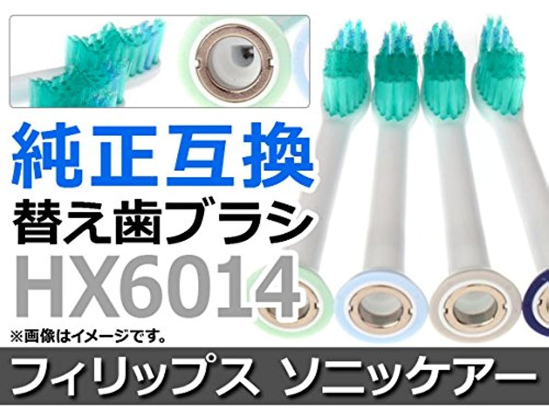 対維持ピグマリオンAP 電動 替え歯ブラシ フィリップス ソニッケアー HX6014 純正互換 AP-TH016 入数:1セット(4本)