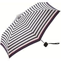 kiu 【驚きの小ささ!】折りたたみ傘Tiny(ピンクラインボーダー)