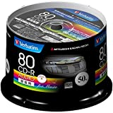 三菱ケミカルメディア Verbatim 音楽用 CD-R MUR80FP50SV1 (48倍速/50枚)