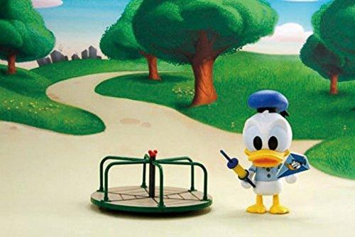 ディズニー フィギュアシリーズ ドナルドの回転遊具 約95mm PVC製 塗装済み完成品フィギュア
